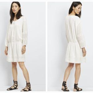 $345 NWT Vince Lace Inset Dress Size L